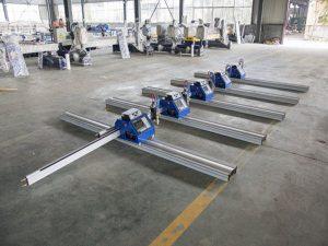 180W Portebla CNC-Plasma Tranĉmaŝino por tranĉi dikan metalon 6 - 150mm