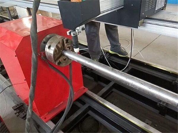 2017 Nova Portebla tipo Plasma Metala Pipo-tranĉa maŝino, CNC-metala tubo tranĉa maŝino