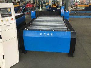 Ĉinio Huayuan 100A Plasma Tranĉa CNC-Maŝino 10mm Plato Metala