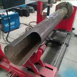 rotacianta ŝafon cnc-cirkla tubo malaltan koston cnc plasma tranĉmaŝino