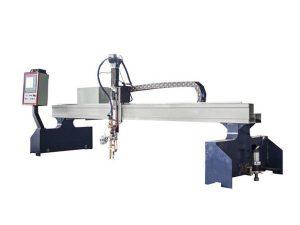 malgranda gantry cnc pantograf metala tranĉanta machinecnc plasma tranĉilo
